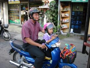 Основной вид транспорта в Таиланде