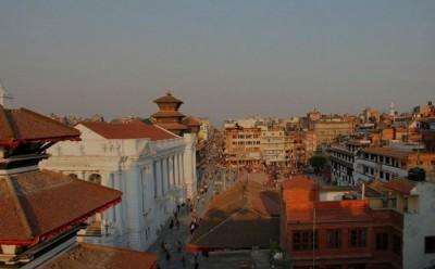 Центральная площадь столицы Непала - Катманду