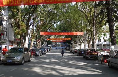 Улицы Саньи забетонированы: всегда чисты и широки