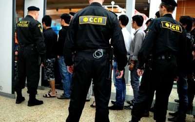 Депортация иностранцев в аэропорту