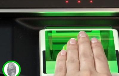 Современные технологии позволяют проводить дактилоскопию быстро