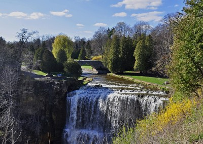 Так выглядит водопад Гамильтон в Онтарио