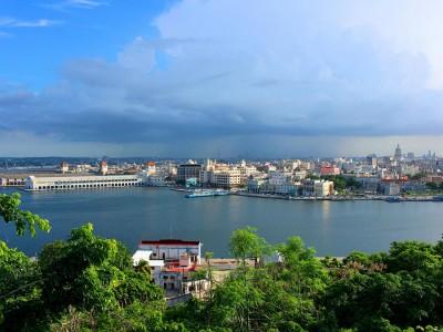 Так выглядит бухта в старой части Гаваны