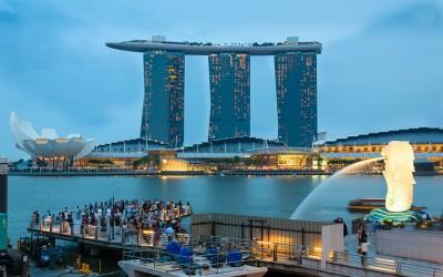 Отель с кораблем на крыше вы увидите только в Сингапуре