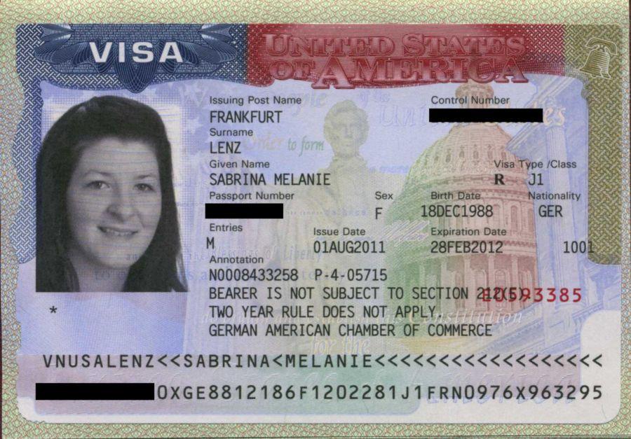 процедура оформления визы в америку:
