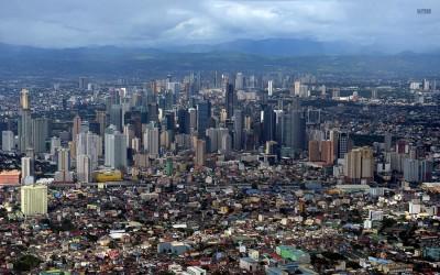 Вот так выглядит Манила - ну очень густо населенный город