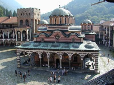 Внешний вид Рильского мужского монастыря