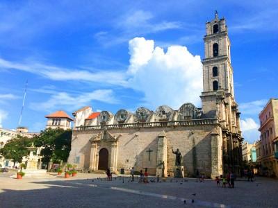 Одна из старейших и ныне действующих церквей в Гаване