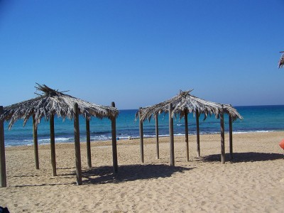 Дикий пляж на одном из Израильских курортов