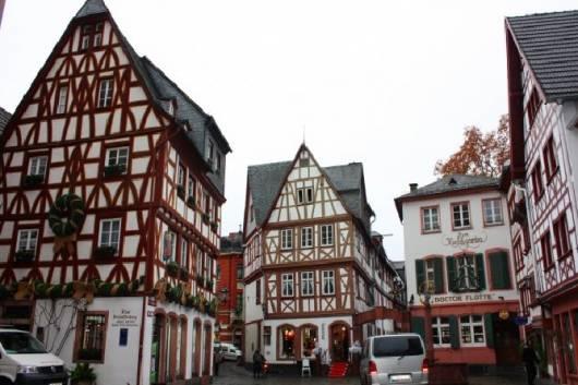 прекрасная архитектура немецких домов