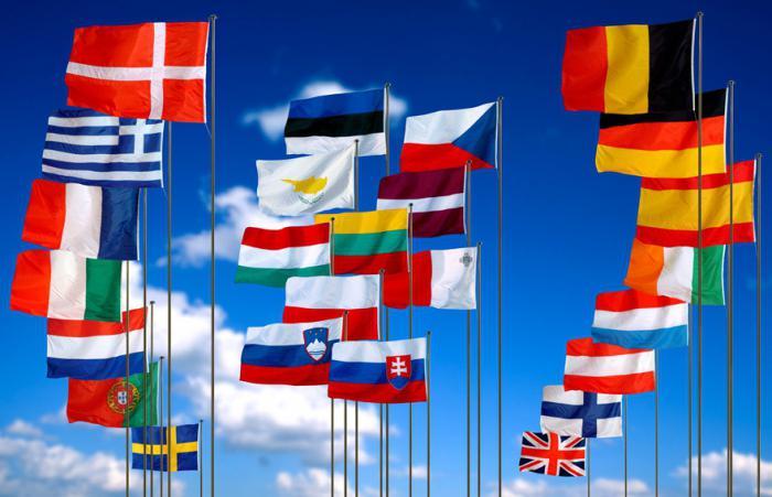 Страны входящие в евросоюз