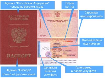Отличия старого загранпаспорта от нового