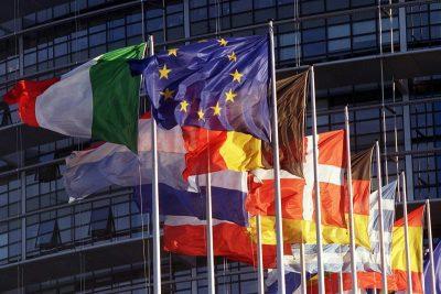 Флаги стран входящих в ес