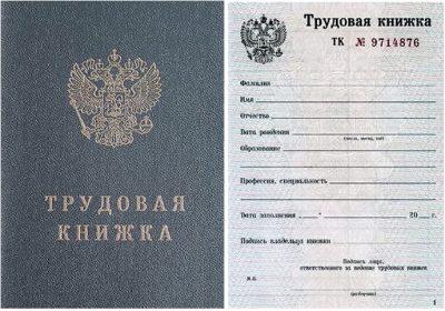 При оформлении паспорта для выезда за границу ранее требовалась трудовая книжка