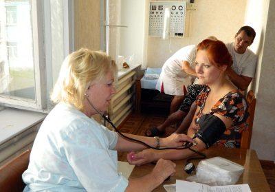 Бесплатное медицинское обслуживание для вынужденных переселенцев
