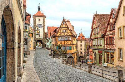 Волшебная улочка в Германии