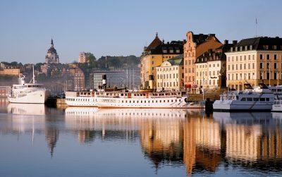 В городах Швеции много архитектурных и исторических памятников