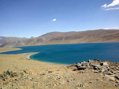 Озеро Хар-Нуур в Монголии
