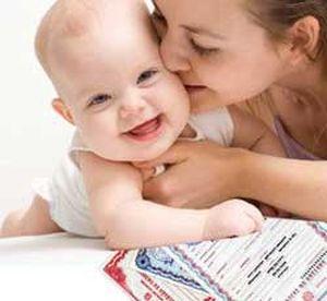 Прописать новорожденного где прописана мать но она там не живет