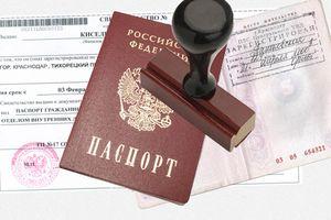 Паспорт и печать