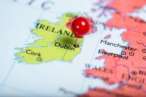 Ирландия на карте