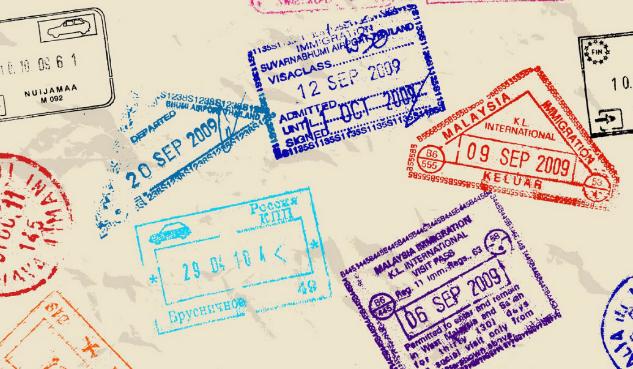 штампы для визы