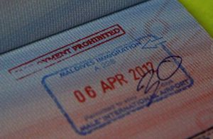 Штамп на визу
