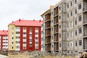 Новые жилые дома
