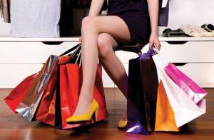 Покупки обуви