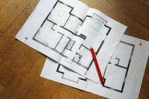Составленный план квартиры