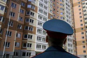 Жилой дом для военных