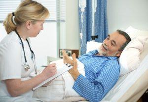 Медработник и пациент