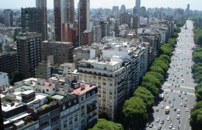 Столица Аргентины Буэнос-Айрес, северный округ